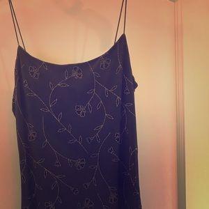 Vintage blue handkerchief hem sweet lil dress